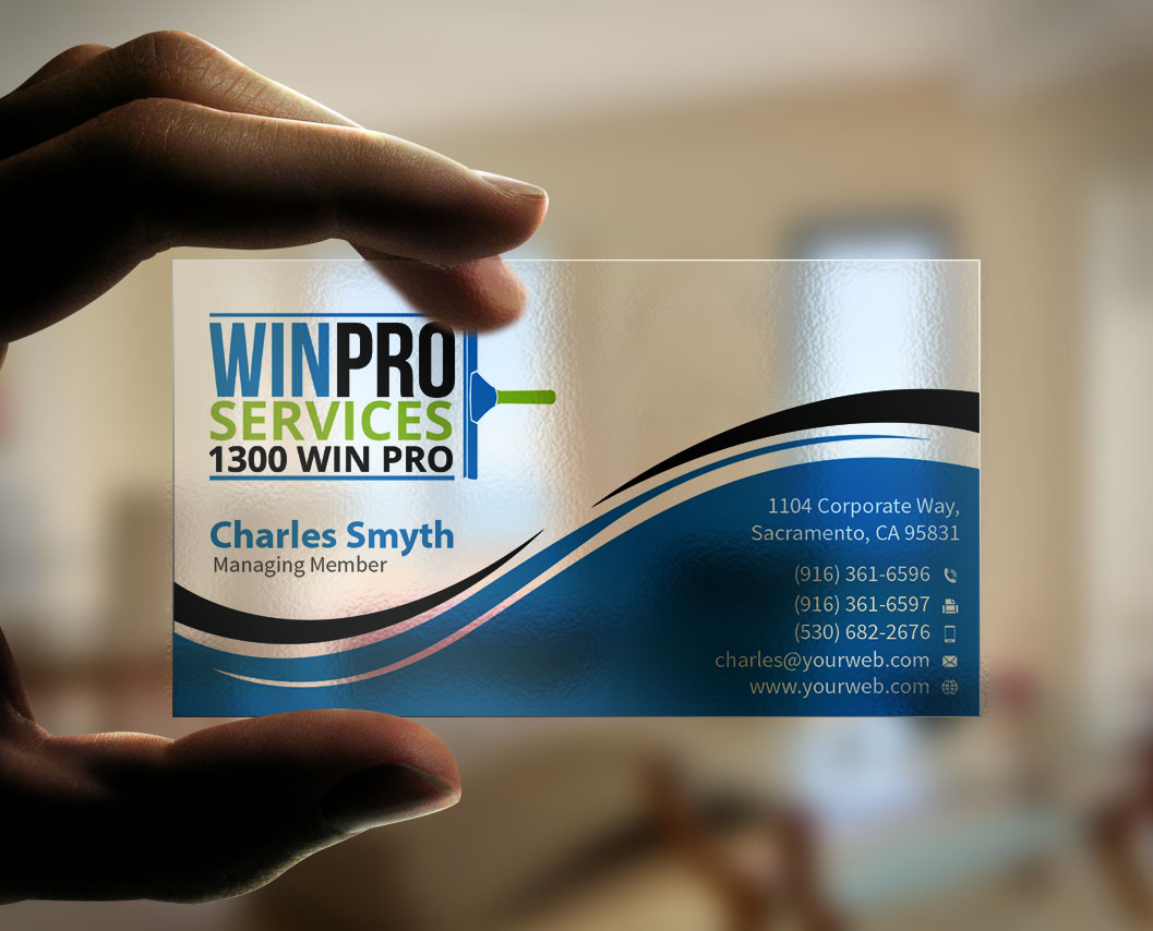 Pool service business cards pool service business card cards l pool service business cards business card design by mediaproductionart for clear plastic window cleaning company colourmoves