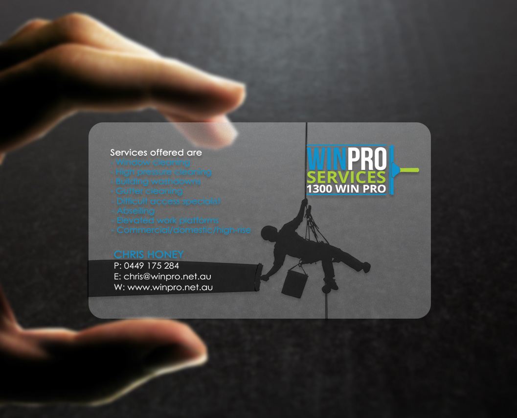 Clear Business Cards Australia Images - Card Design And Card Template