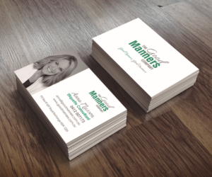 Green business card design galleries for inspiration manners etiquette business card design business card design by r m reheart Images