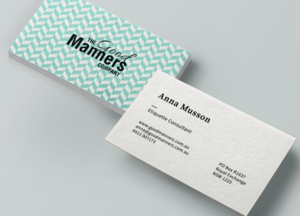 86 elegant upmarket business business card designs for a business business card design design 7028512 submitted to manners etiquette business card design reheart Images