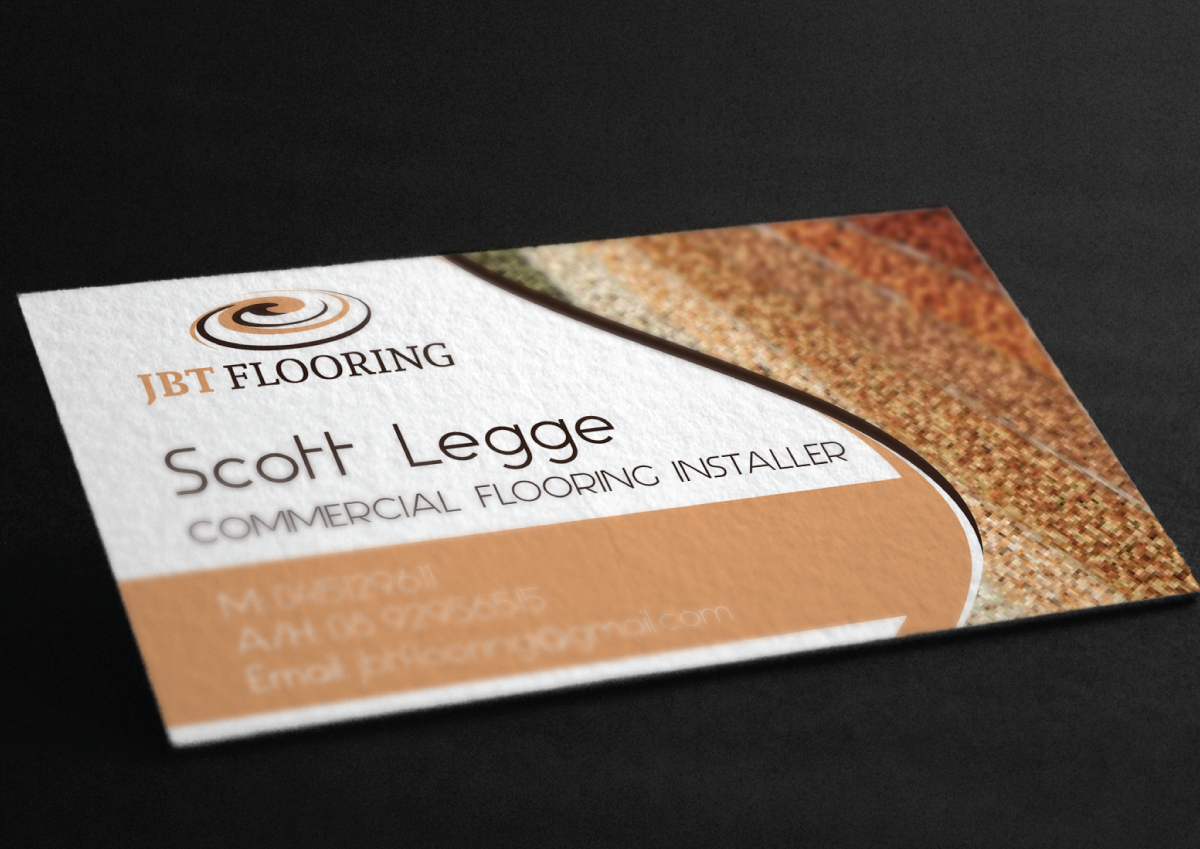 business card design by coo coo design for this project design 7074998 - Flooring Business Cards