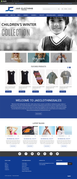 Shopify Design by alexend
