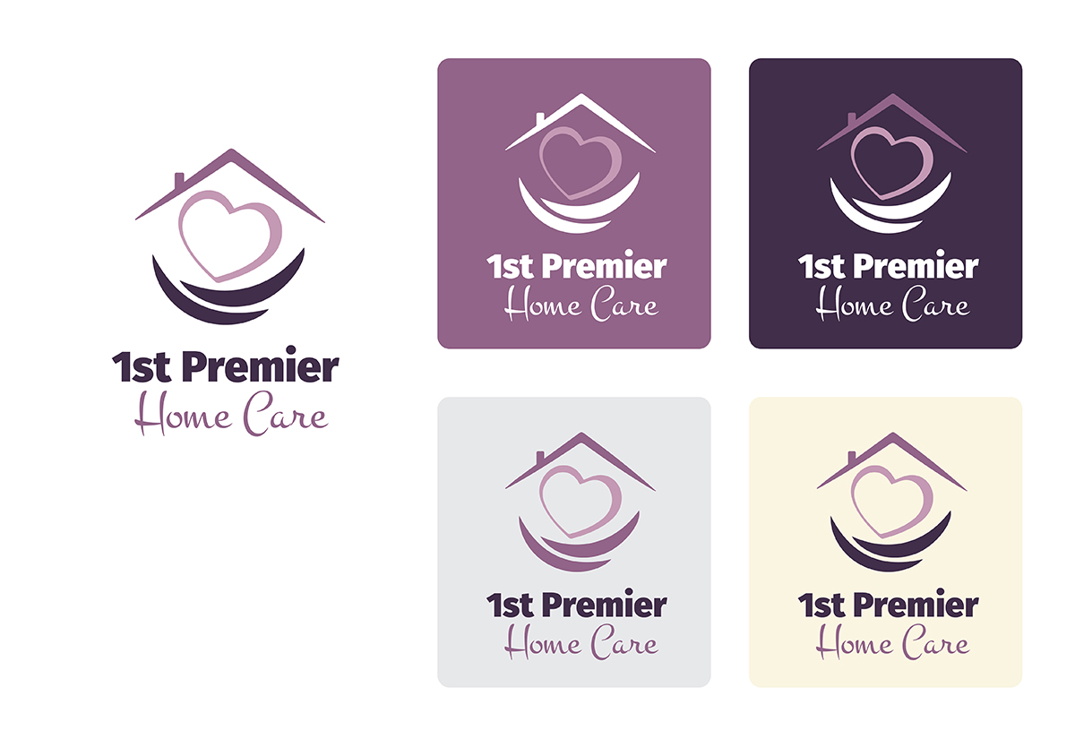 Logo Design for 1st Premier Home Care by Creative Type | Design #7042387