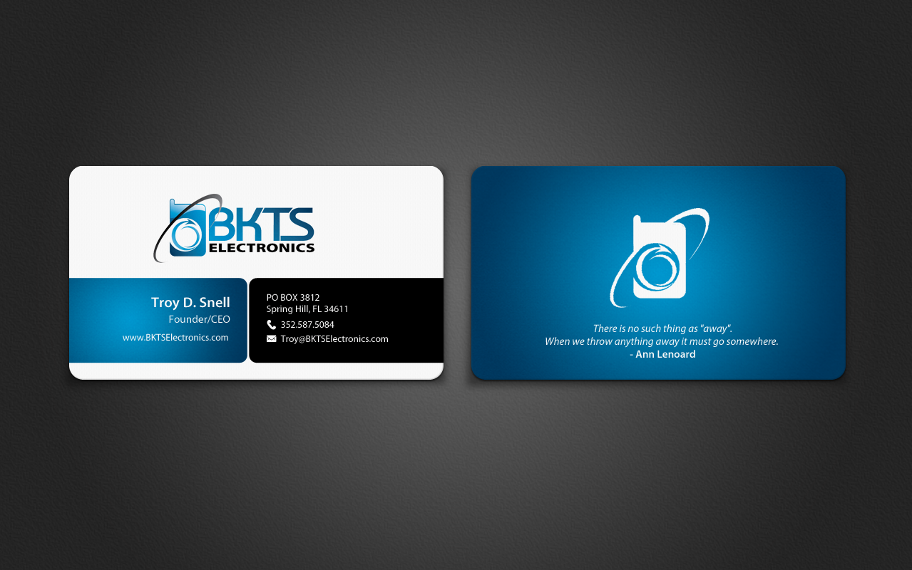 Bold serious information technology business card design for bkts bold serious information technology business card design for bkts electronics in united states design 7027477 colourmoves