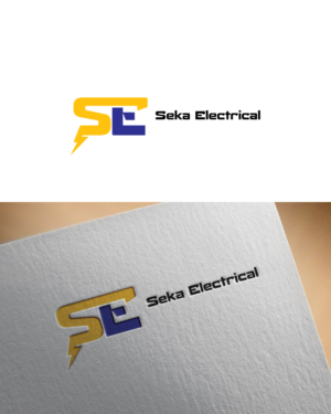 118 bold serious electrician logo designs for seka electrical a logo design design 7032313 submitted to electrical business in sunny nelson nz reheart Images