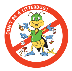 Image result for cartoon images of don't litter