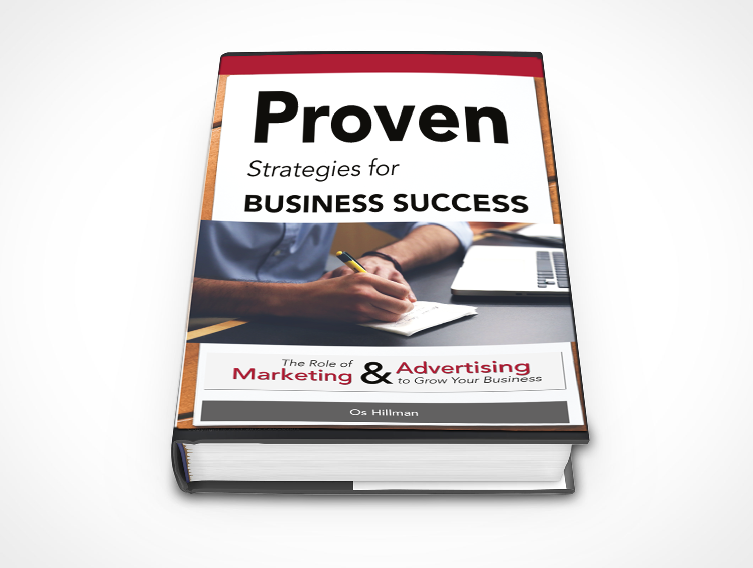Business Book Cover Art : Serious modern business book cover design for a company
