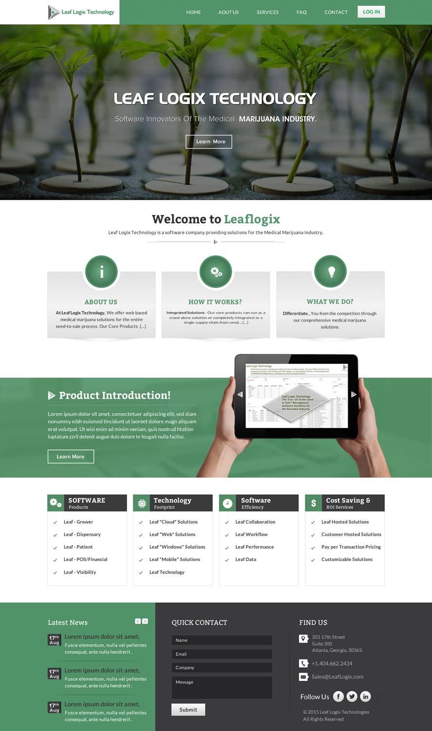 Professional Serious Software Web Design For A Company By Sbss Design 7059330