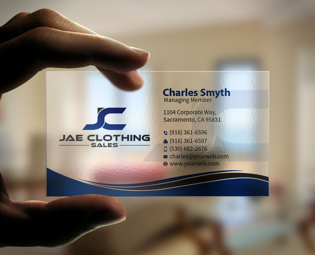 Bold modern online shopping business card design for jae sales llc bold modern online shopping business card design for jae sales llc in united states design 7042750 reheart Image collections