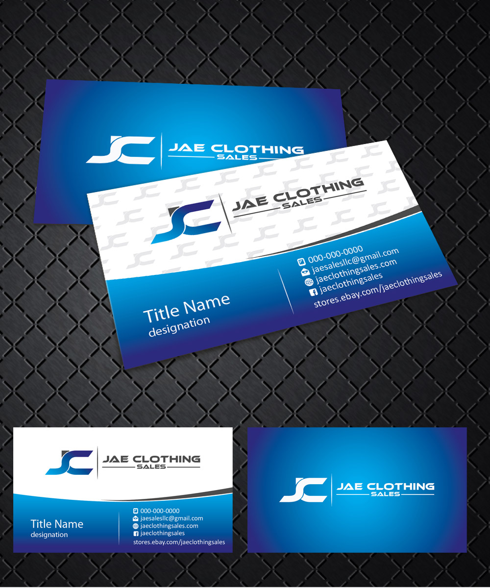 Bold, Modern, Online Shopping Business Card Design for JAE Sales LLC ...