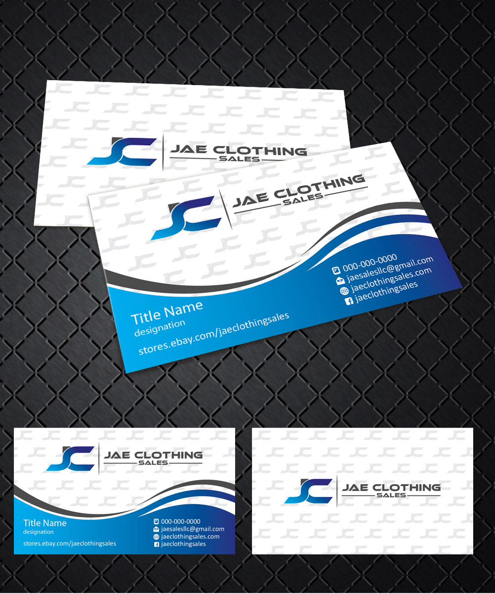 Bold, Modern Business Card Design for JAE Sales LLC by joliau ...