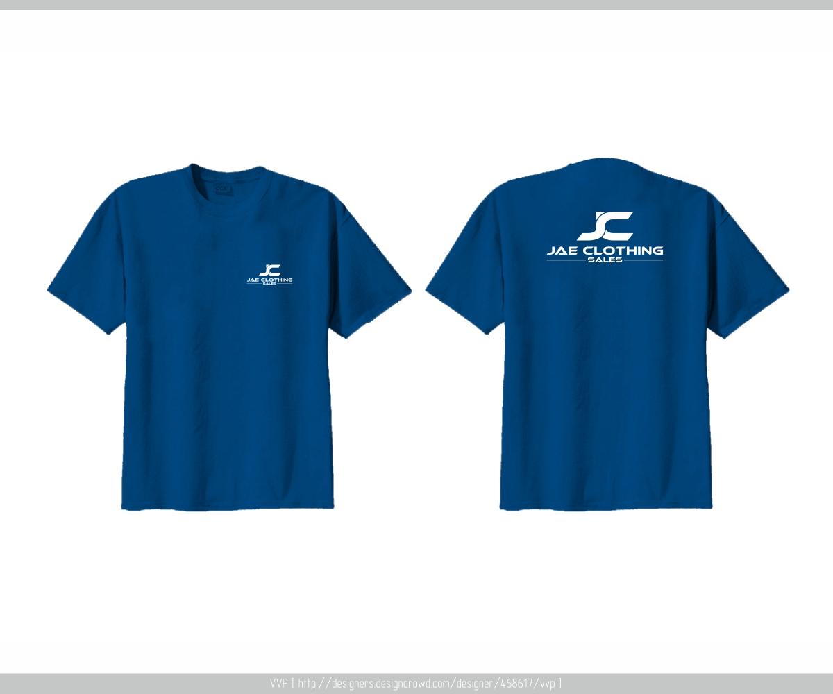 Masculine Playful Online Shopping T Shirt Design For Jae Sales Llc