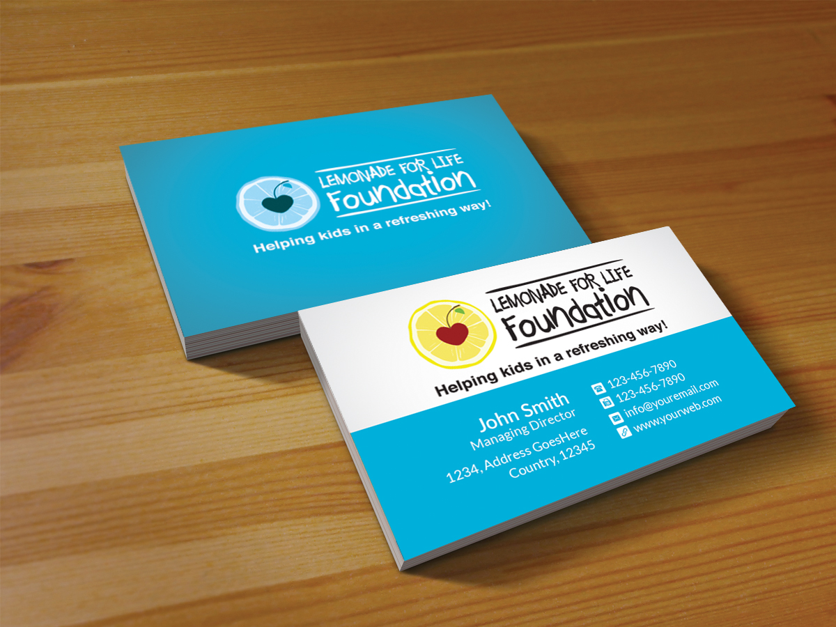 Playful personable business card design for michelle mattingly by business card design by creations box 2015 for non profit business card design 7064114 colourmoves