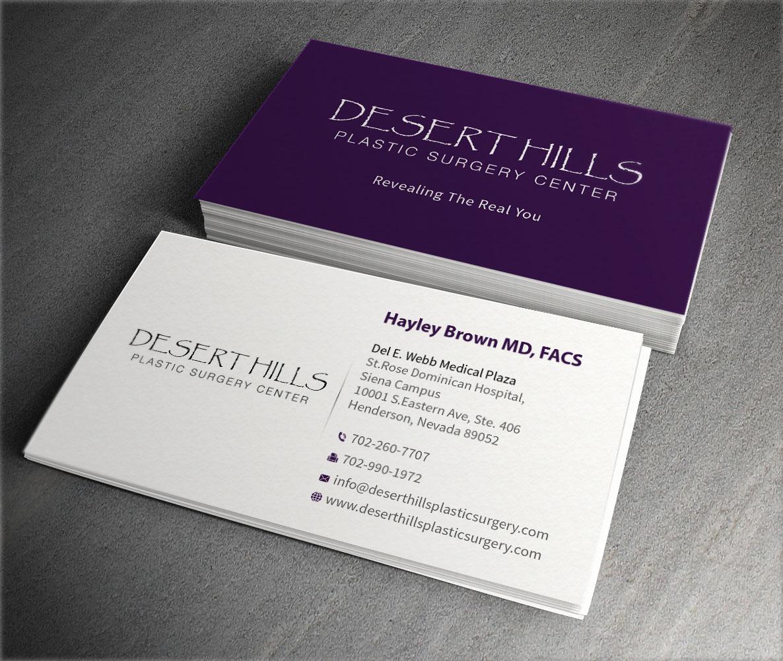 Modern, Serious Business Card Design for Liz K by ...