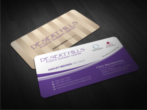Plastic surgery business card designs 13 plastic surgery business plastic surgery center needs a business card business card design by atvento graphics reheart Gallery