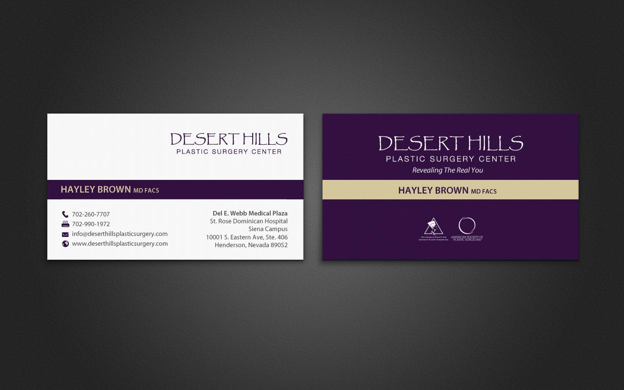 Modern, Serious Business Card Design for Liz K by chandrayaan ...