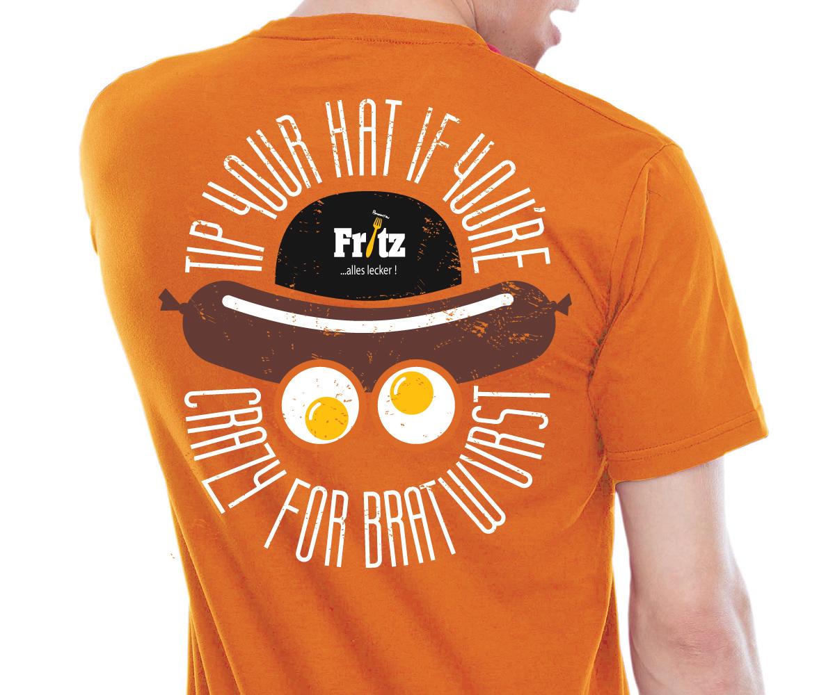 Amusant professionnelle fast food restaurant design de t for Make t shirts fast