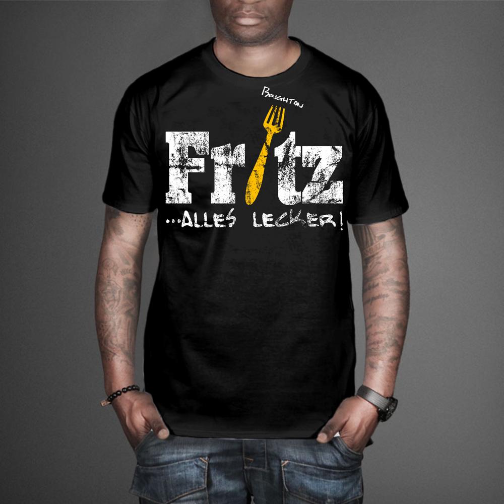 Spielerisch Professionell Fast Food Restaurant T Shirt