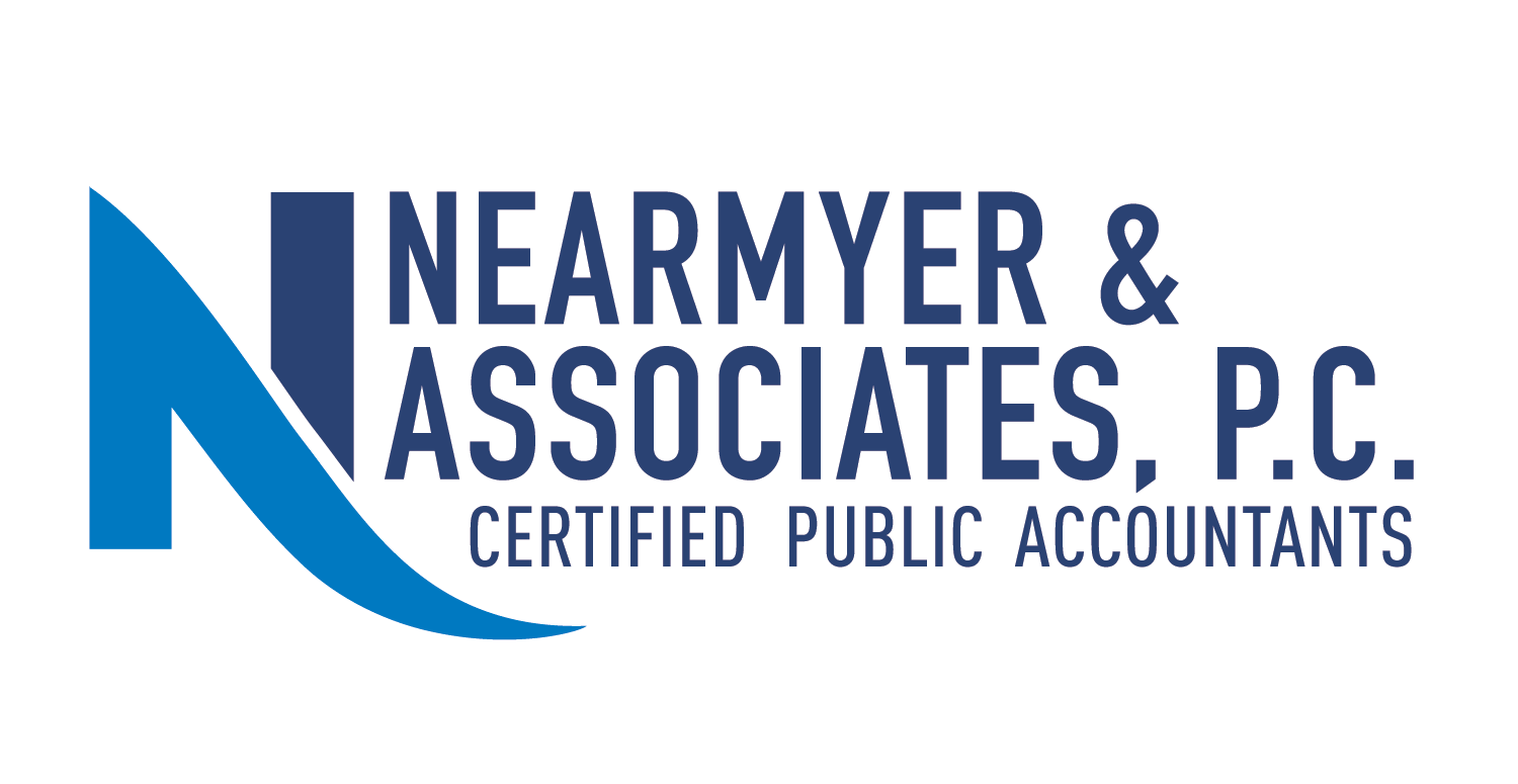 serious professional accounting logo design for nearmyer