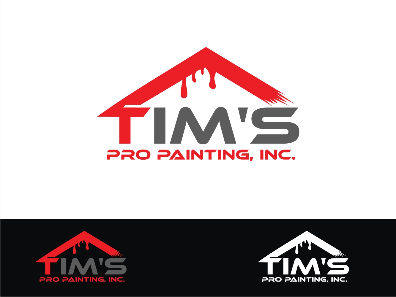 professional masculine it company logo design for tims