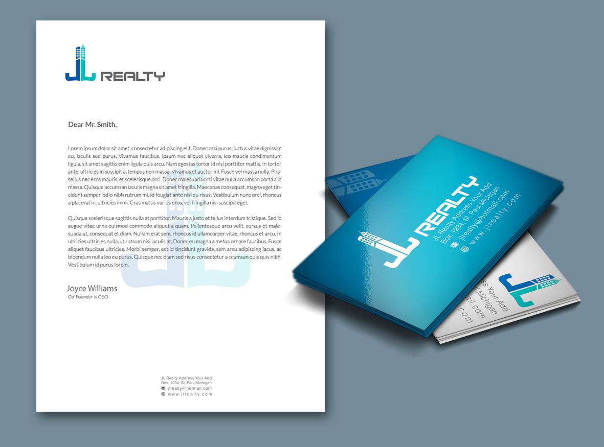 Upmarket Property Development Brochures : Serious upmarket real estate development stationery