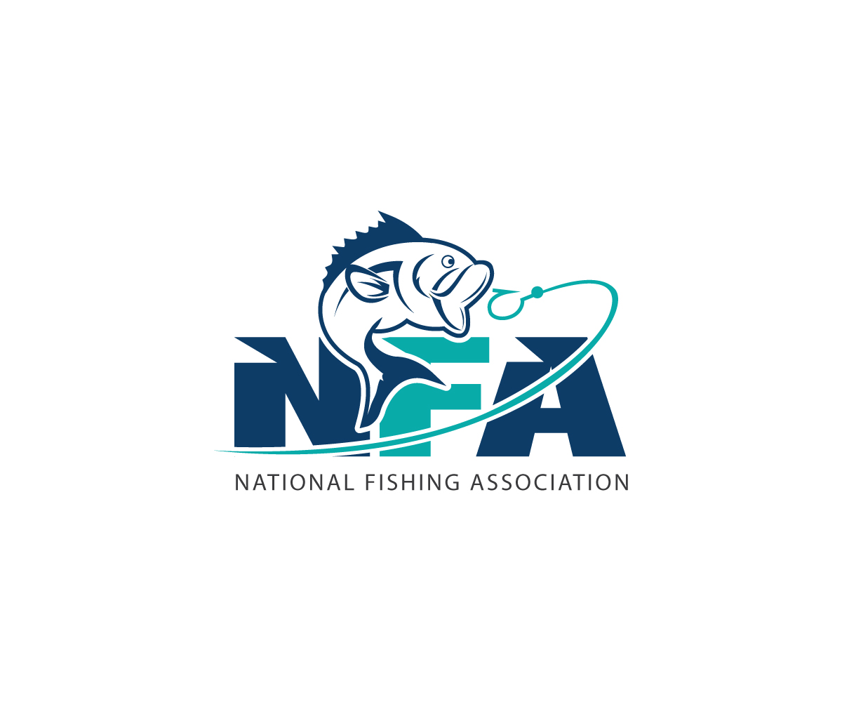 elegante juguet n dise o de logo for national fishing