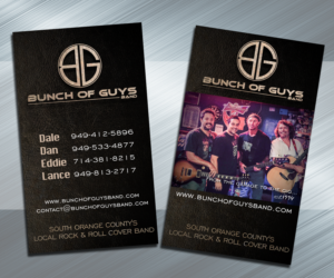 band business cards