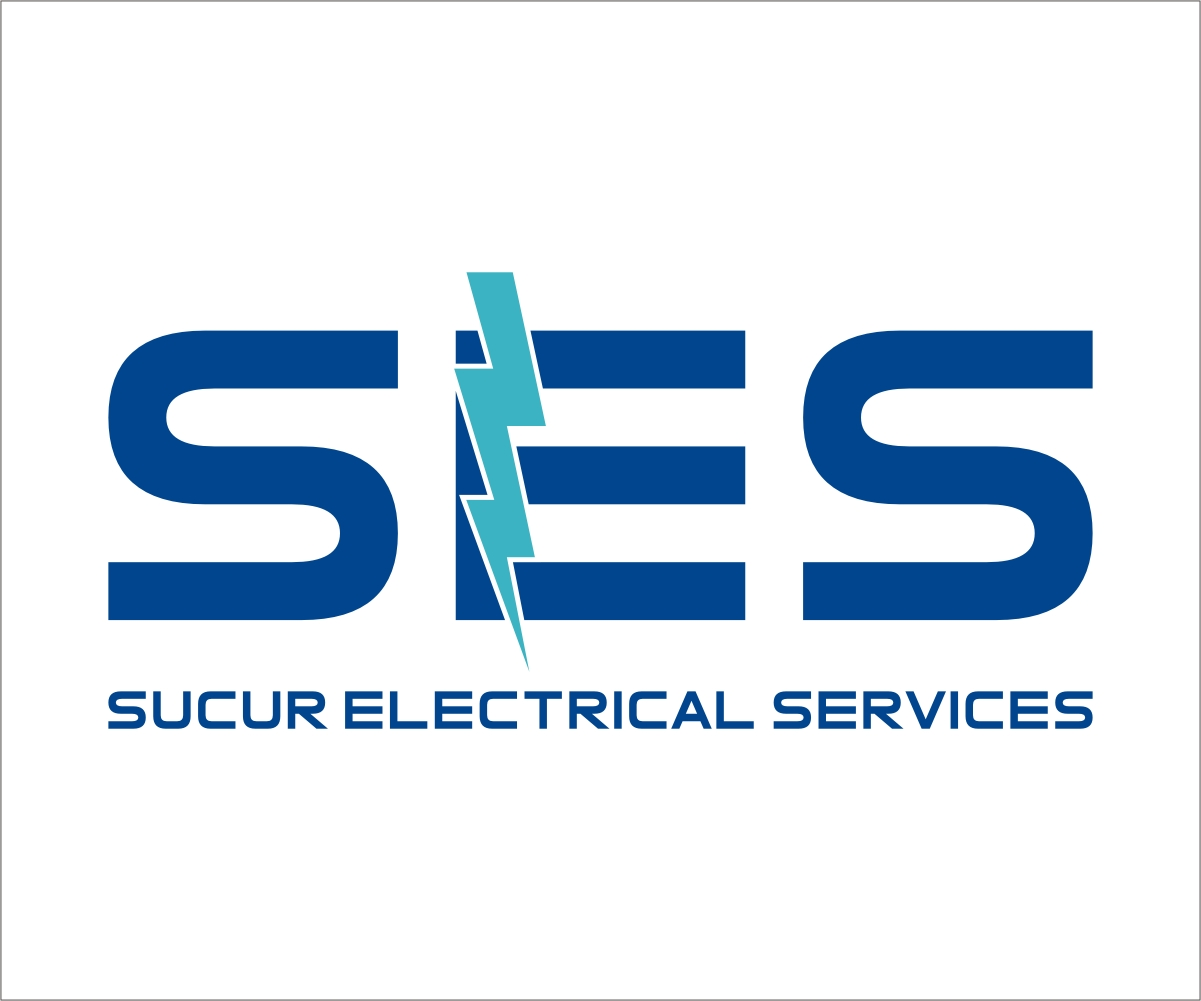 Electrical Design Services : Serious professional electrician logo design for sucur