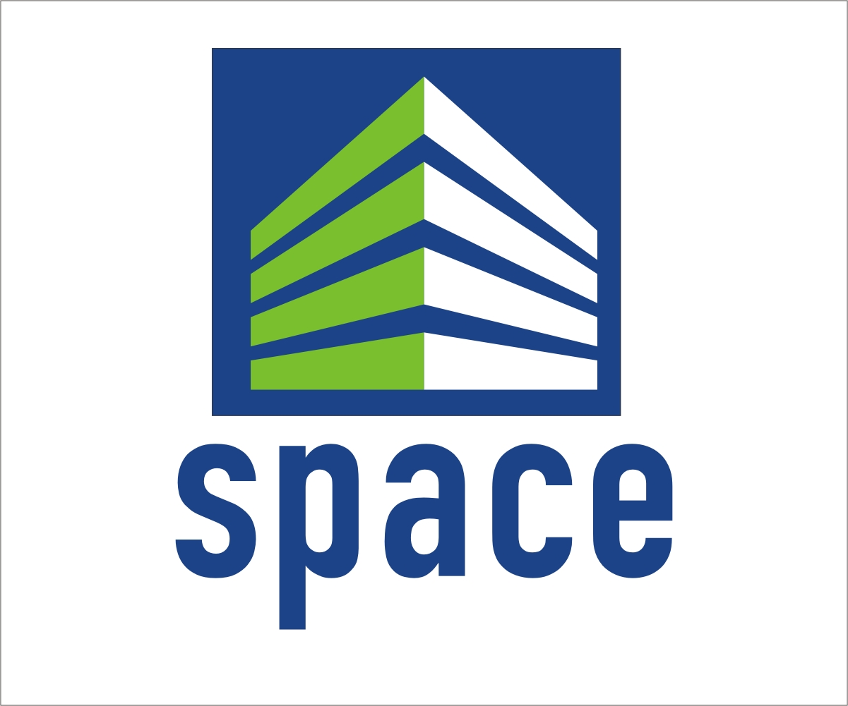 Modern bold logo design for space measuring by rox art for Design space co