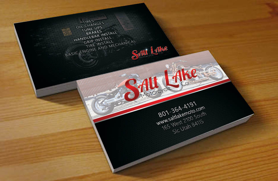 Bold Serious Business Business Card Design For Salt Lake