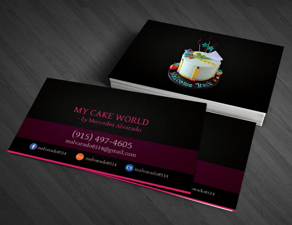Feminine, Elegant Business Card Design for Mercedes Alvarado by ...