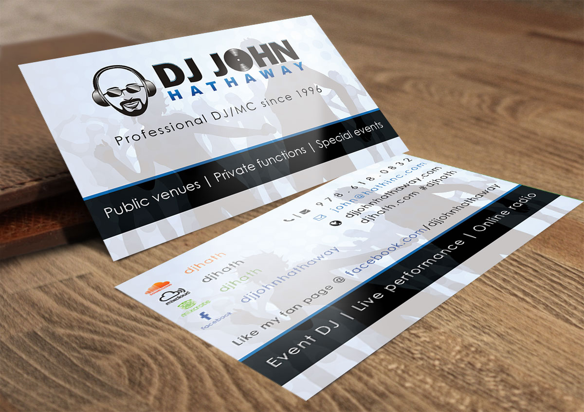Elegant playful business business card design for a company by business card design by feel free design for this project design 7067399 reheart Image collections