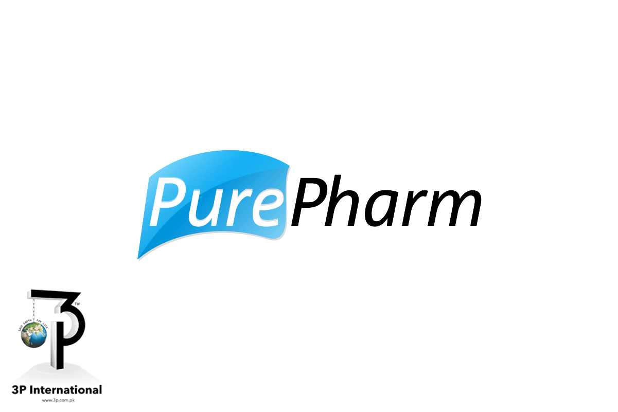 Serious professional pharmaceutical logo design for for International design company