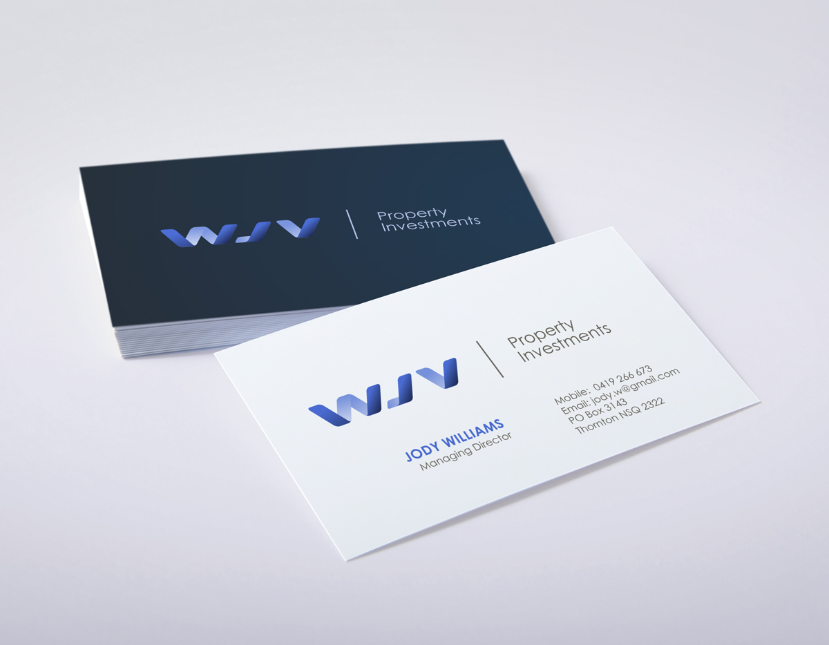Bold Playful Business Card Design For Jody Williams By