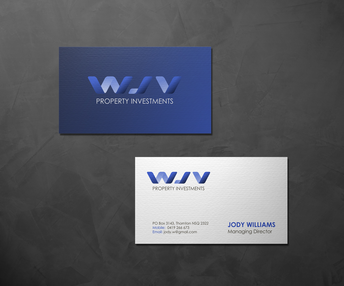 Business Card Design By Loeny For Property Investor Needs 1827782