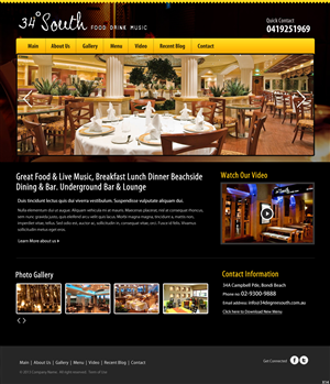 Web Design by pb - Web Design Project