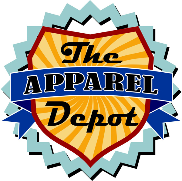 Upmarket Playful Embroidery Logo Design For The Apparel Depot By G