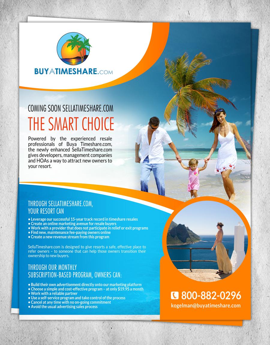 Flyer Design By Creativebugs For Buyatimeshare