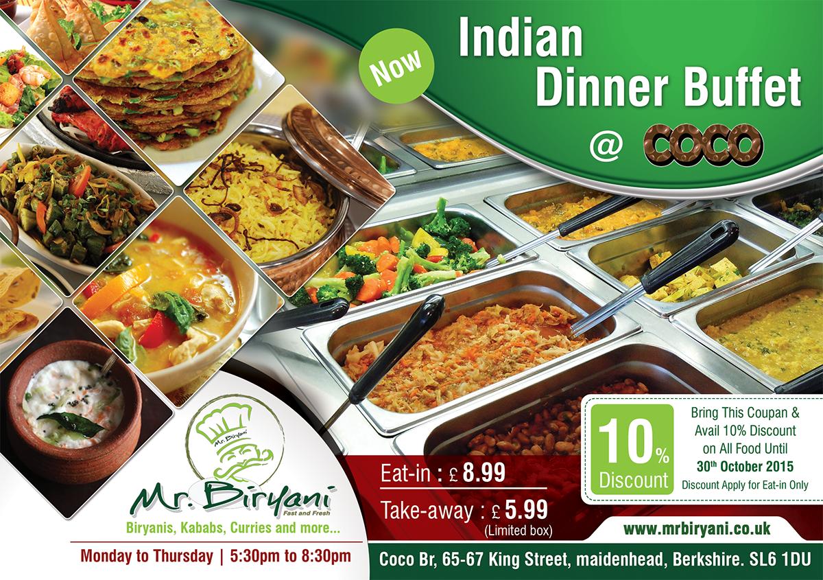 Elegant Modern Indian Restaurant Flyer Design For A Company By Akshar Shailesh Design 7119139