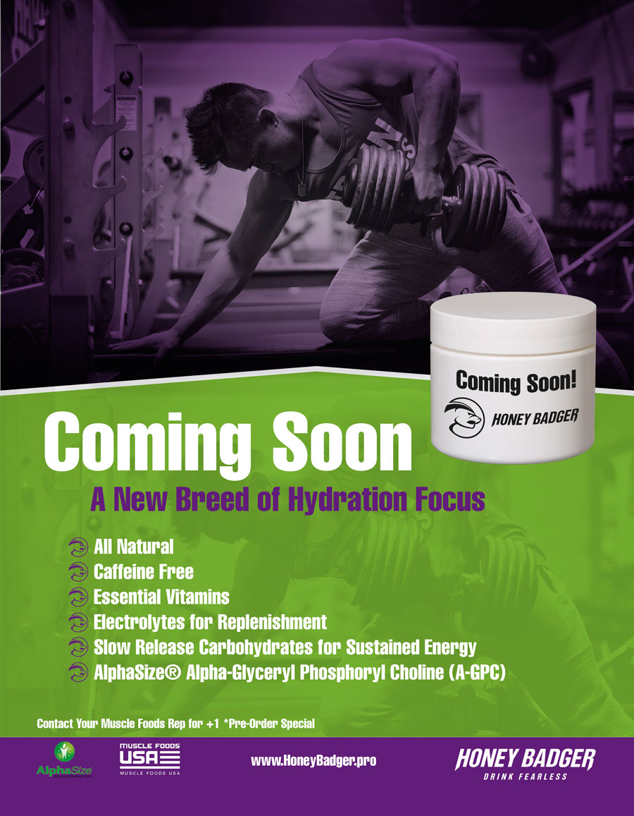 Bold, Serious, Fitness Advertisement Design for Honey ...