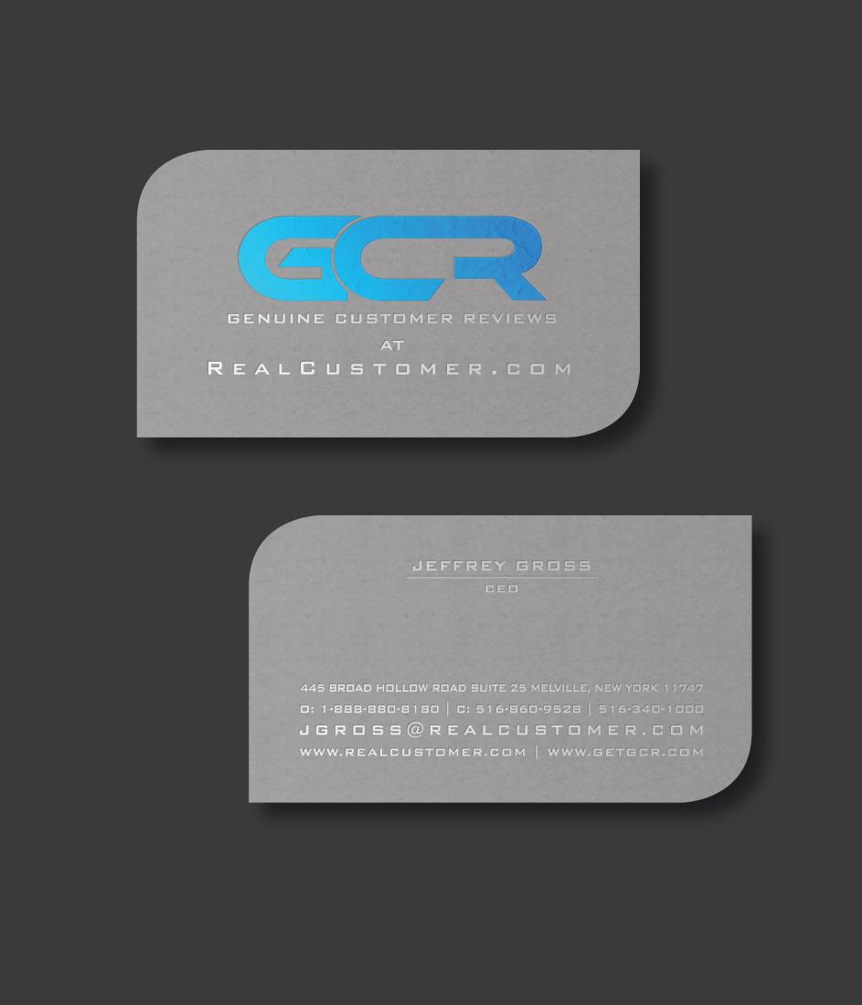 Bold, Serious Business Card Design for Jeff Gross by shakar | Design ...