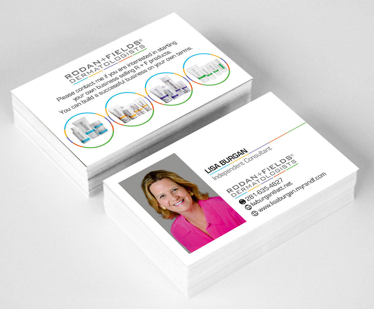 Professional, Traditional, Skin Care Product Business Card Design ...