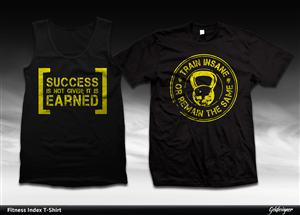 27 upmarket t shirt designs fitness t shirt design for Design your own workout shirt