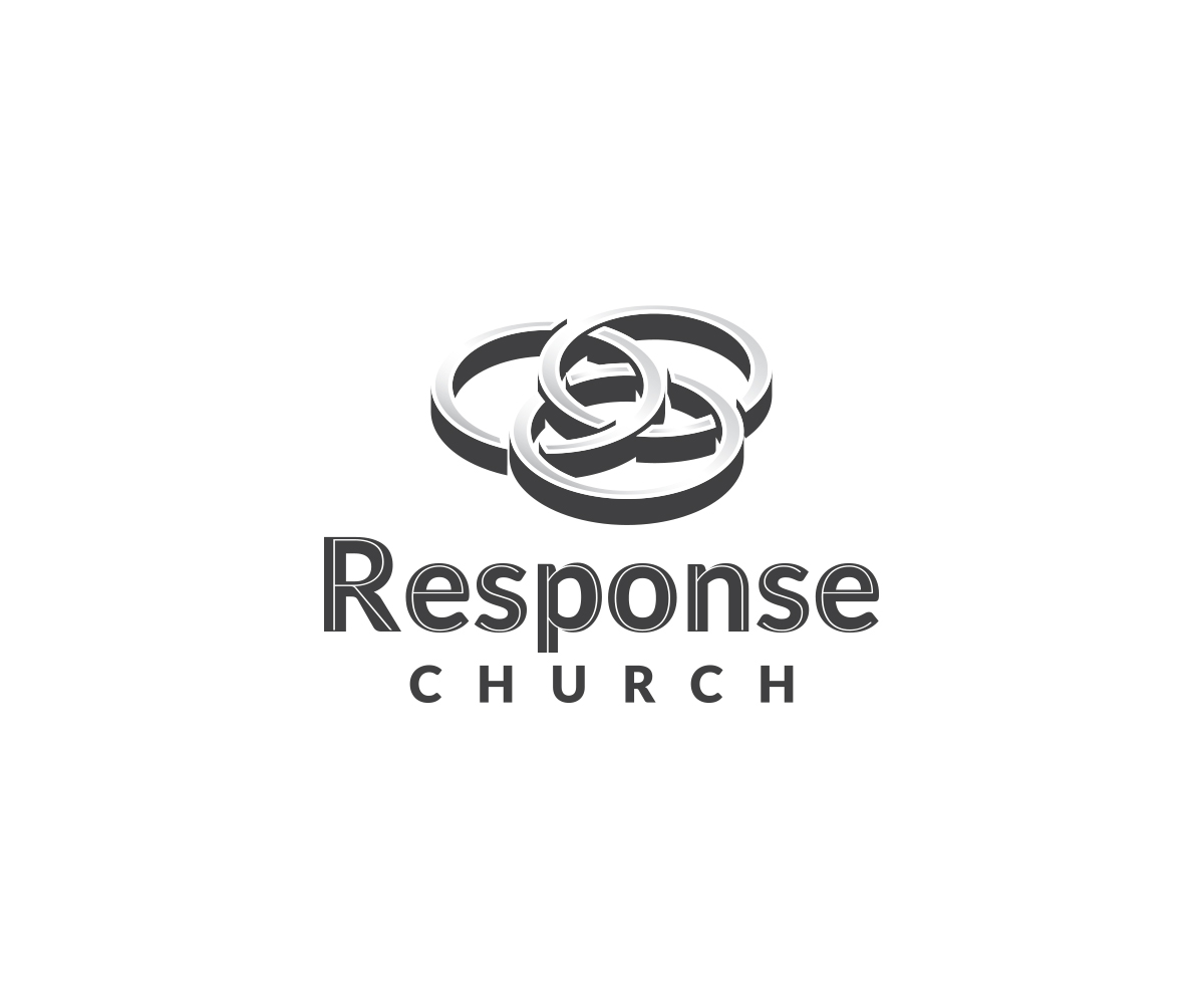 Masculine conservative logo design for response church by logo design by parallaxe for a modern abstract and active 3 circle venn pooptronica