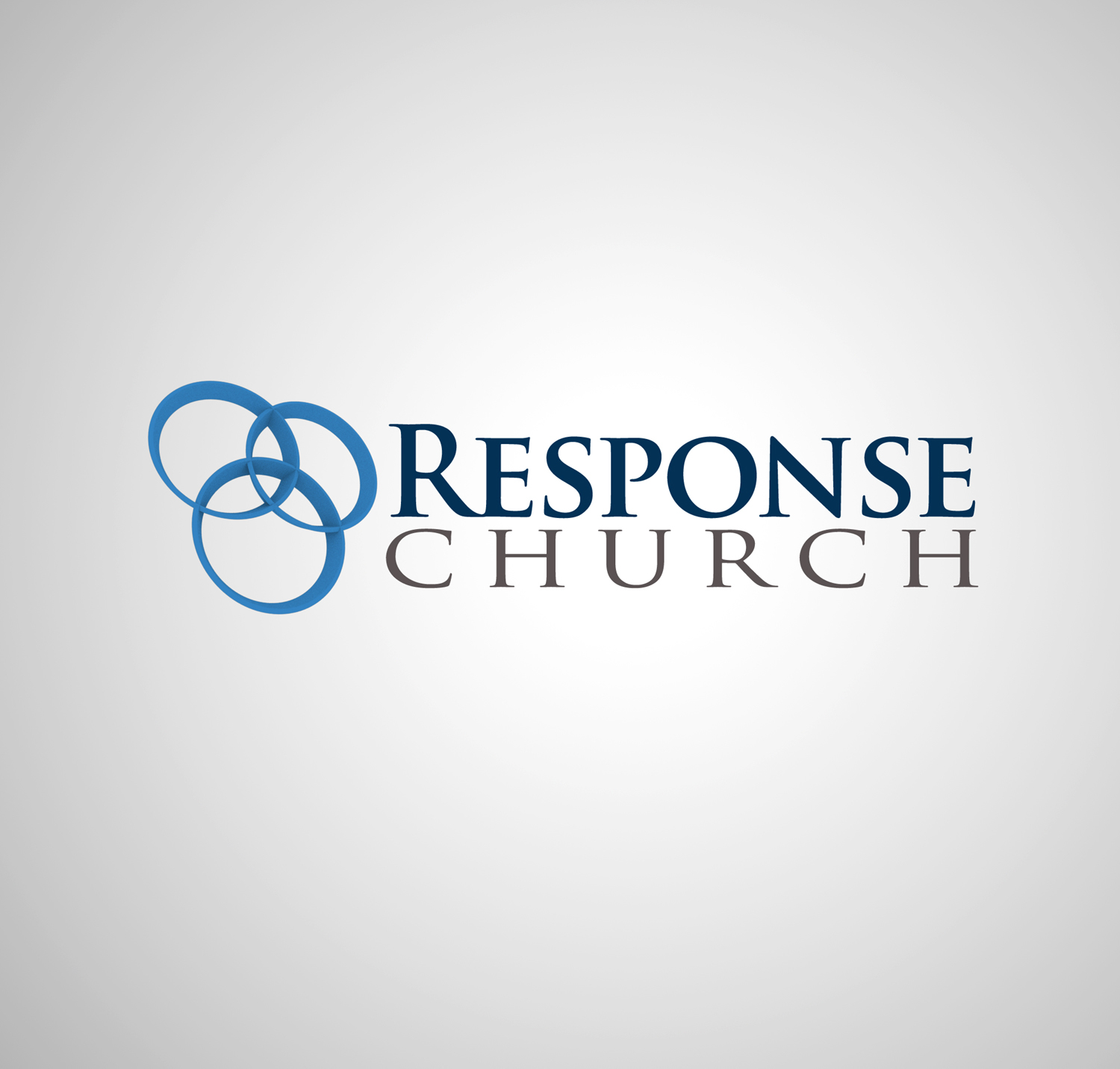 Masculine conservative logo design for response church by v g logo design by v g for a modern abstract and active 3 circle venn pooptronica