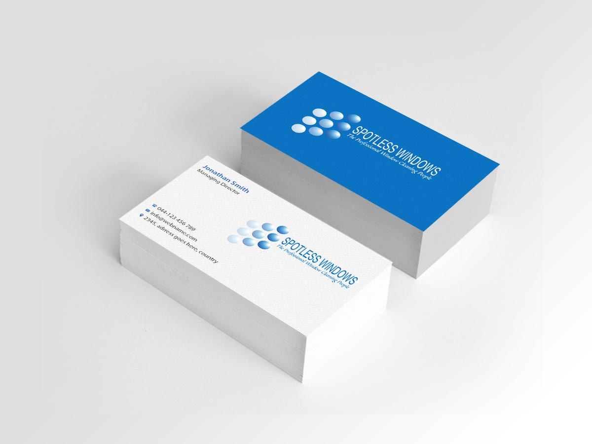 61 Professional Business Card Designs | Window Cleaning Business ...
