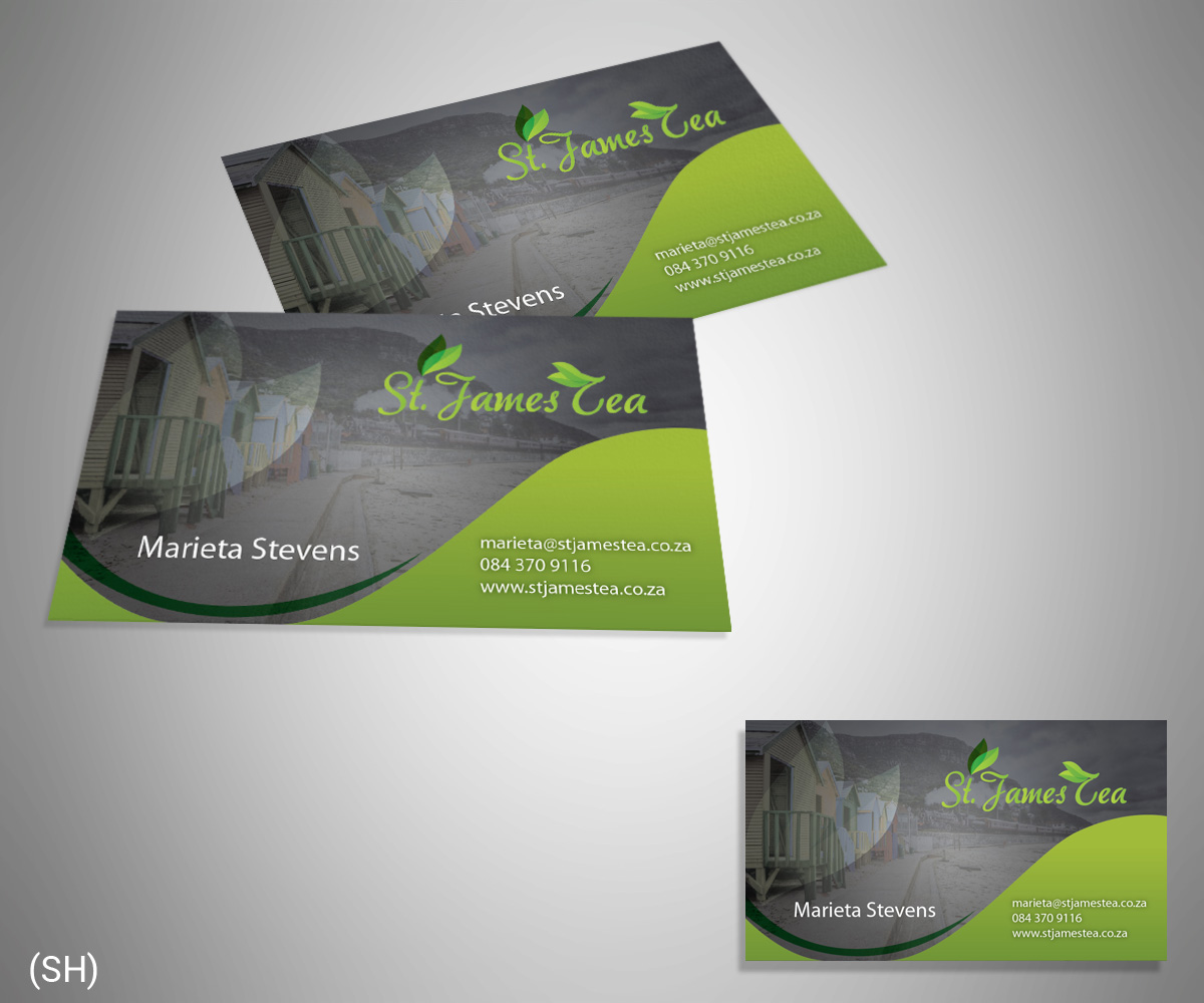 tea brochure design