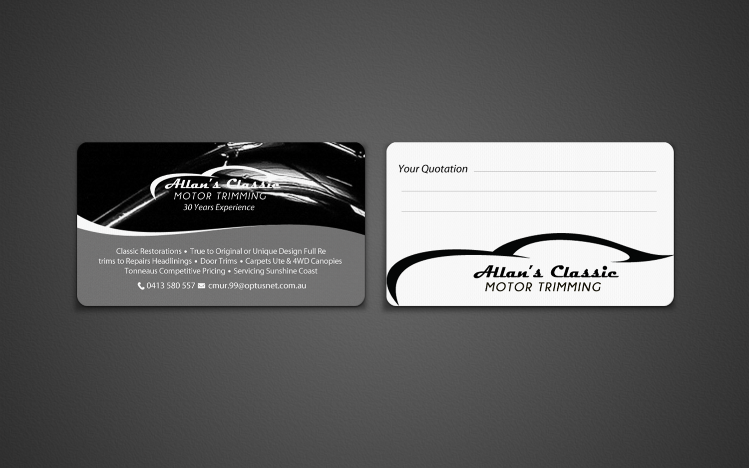 Bold, Traditional, Business Business Card Design for a Company by ...