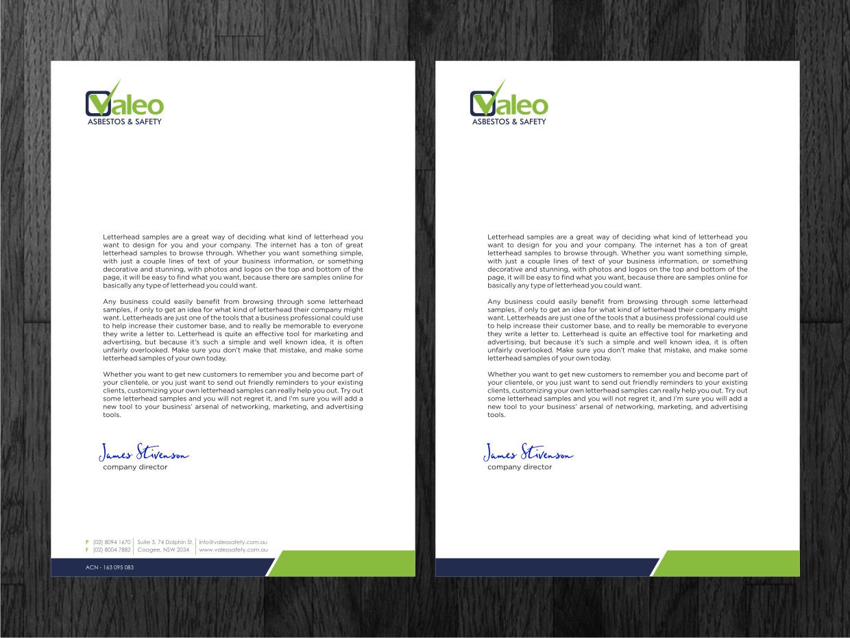 design your own letterhead