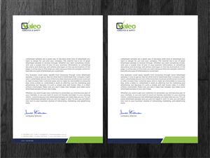 Letterhead Design By Atvento Graphics For Valeo Asbestos Safety